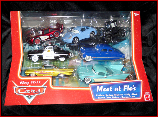 cars pixar characters. Disney Pixar Cars Meet At Flos